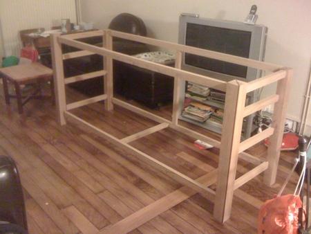 conception et fabrication d un buffet tape 1 la. Black Bedroom Furniture Sets. Home Design Ideas