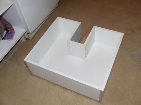 Projet cuisine 9 les tiroirs brico info le blog de bruno catteau - Fabriquer un tiroir en contreplaque ...