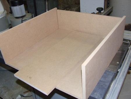 Conception et r alisation d un lit commode brico info - Fabriquer un tiroir coulissant ...