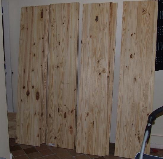 meuble de rangement en pin premi re tape brico info. Black Bedroom Furniture Sets. Home Design Ideas