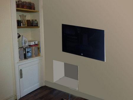 conception et fabrication d une niche technique multim dia home cin ma brico info le blog. Black Bedroom Furniture Sets. Home Design Ideas