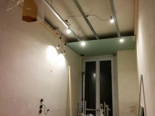 faux plafond placo salle de bains ~ idées novatrices de la ... - Placo Plafond Salle De Bain