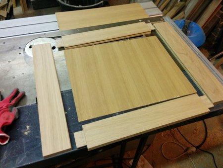R alisation d un mobilier de mini salle de bain miroir - Fabriquer son meuble de cuisine ...