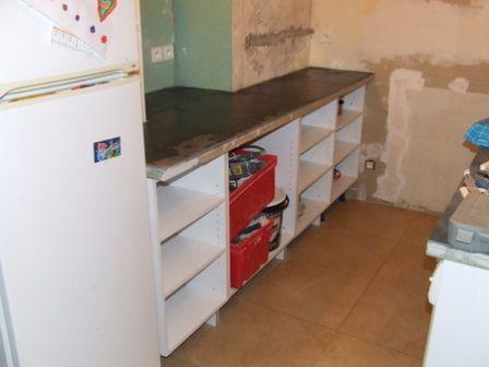 projet cuisine ? 6. meubles rangements ? brico-info ? le blog de ... - Caisson Pour Meuble De Cuisine En Kit
